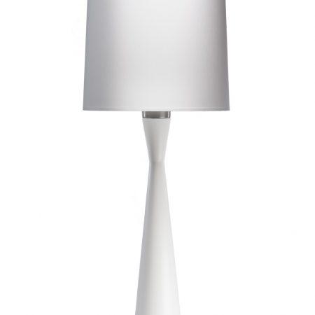 Lampa gabinetowa baron biała